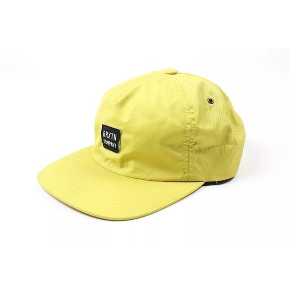 Brixton Supply Co. Company 5 Panel SnapBack Hat. M 5b6b565c477368e8c40163c1 0e926f947642